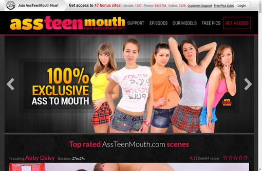 Ass Teen Mouth
