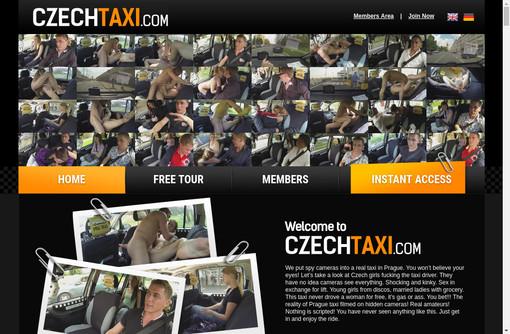 Czech Taxi