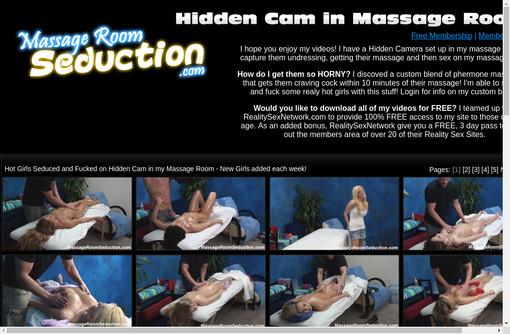 Massage Room Seduction Videos