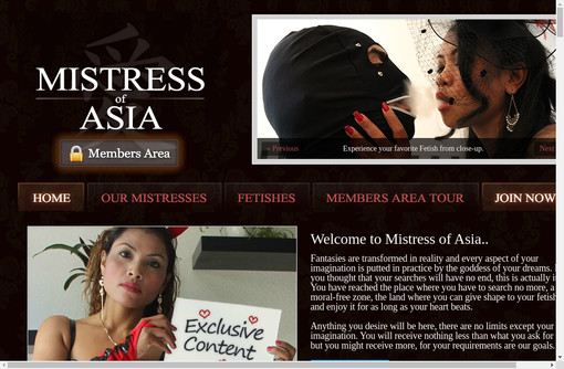 Mistress Of Asia