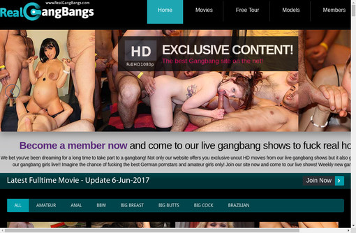 Real Gang Bangs