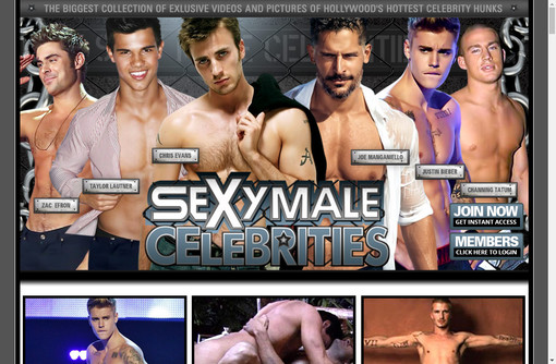 Sexy Male Celebrities