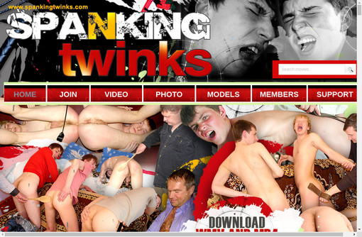 Spanking Twinks