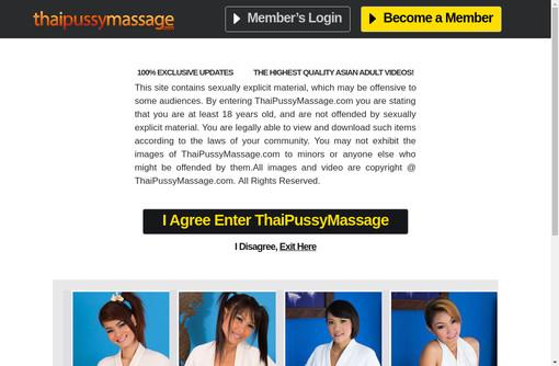 Thai Pussy Massage