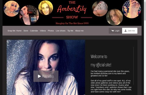 Amber Lily