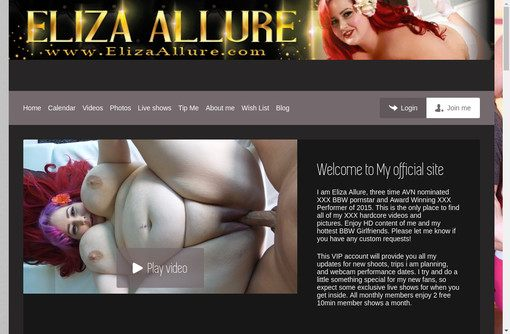 BBW Eliza Allure