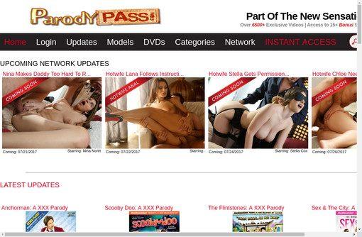 Xxx parody pass top porn images