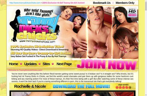 Tranny Dicks In Chicks