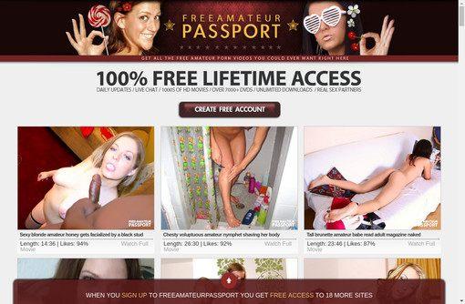 Free Amateur Passport