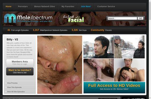 His First Facial