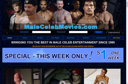 Male Celeb Movies