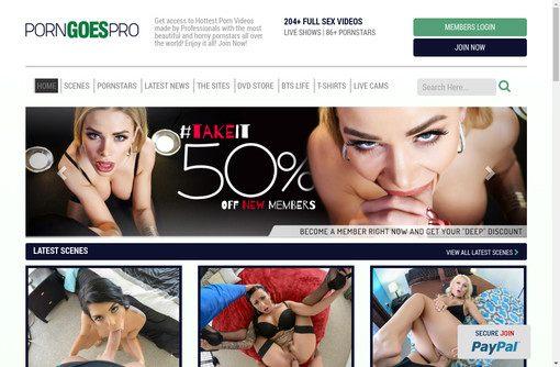 Porn Goes Pro