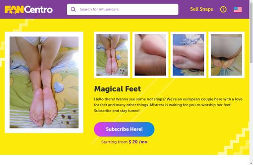 Magical Feet
