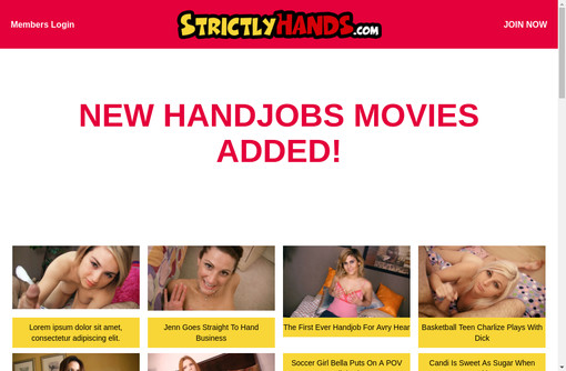 Strictly Hands