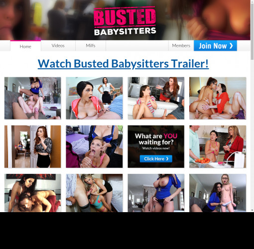 busted babysitters