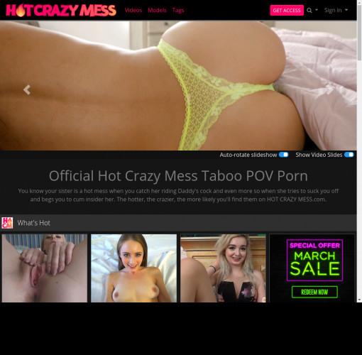 hot crazy mess