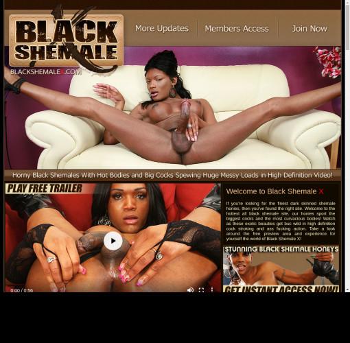 black shemale x