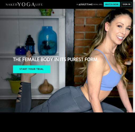 naked yoga life